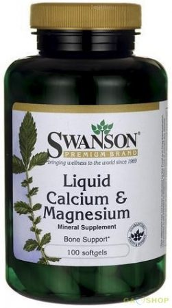 Swanson foly. Calcium-magnesium kapsz.
