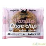 Kookie cat bio vegán keksz vanília-csoki