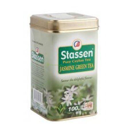 Stassen jázmin tea 100 g fémdobozos