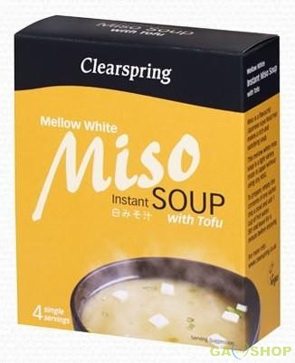 Clearspring miso leves tofuval