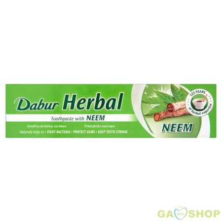 Dabur herbal fogkrém neem