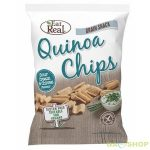 Eat real quinoa chips tejföl-snidling