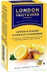 London citrom-gyömbértea 20x