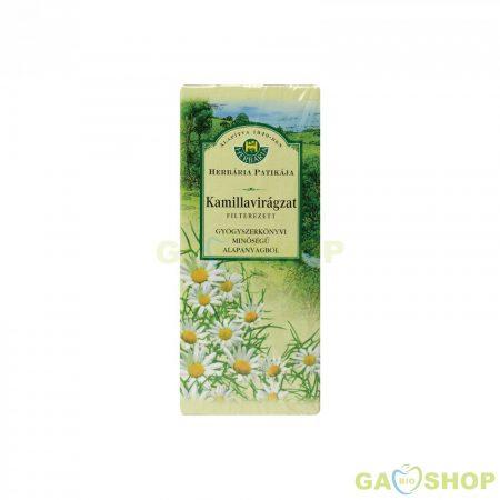 Herbária kamillavirágzat tea filteres