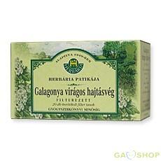 Herbária galagonya virág tea boritékos