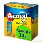 BÉRES ACTIVAL 50+ FILMTABLETTA 90+30 DB