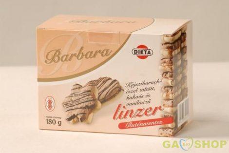 Barbara gluténmentes keksz kajszis omlós