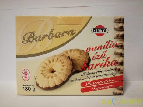 Barbara gluténmentes vaníliás karika