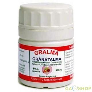 Gralma gránátalma kapszula 60 db
