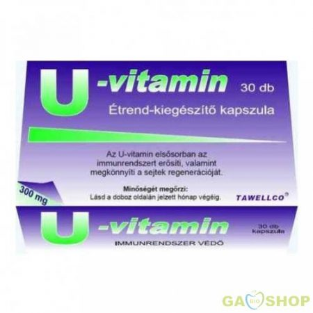 U-vitamin kapszula