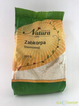 Natura zabkorpa finomszemű 500 g