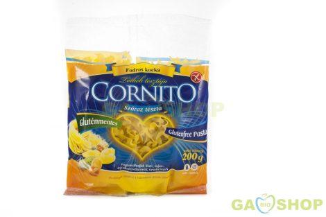 Cornito gluténmentes tészta fodros kocka