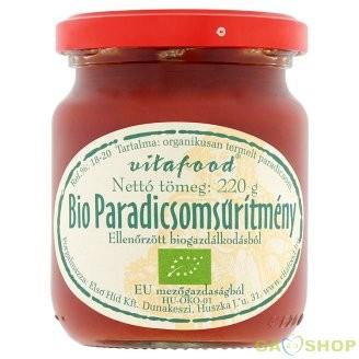 Vitafood bio paradicsomsürítmény 220 g