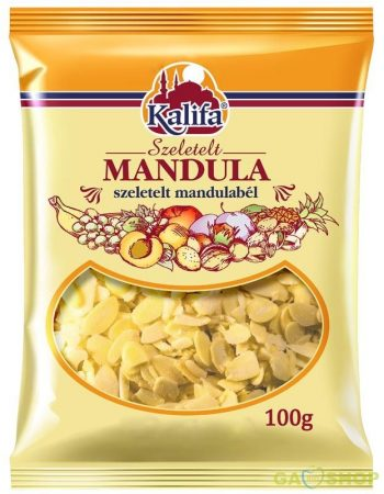 Kalifa mandula szeletelt 100 g