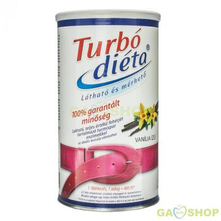 Turbo diéta fogyókúrás italpor vanília
