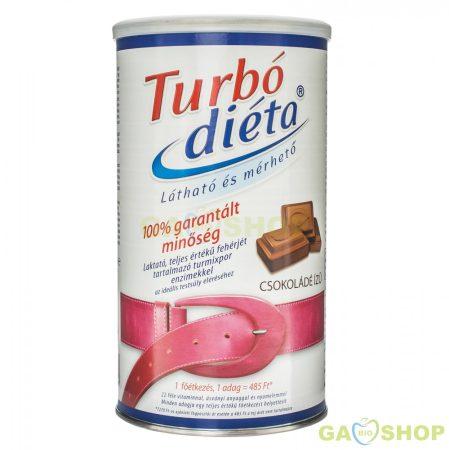 Turbo diéta fogyókúrás italpor csokoládé