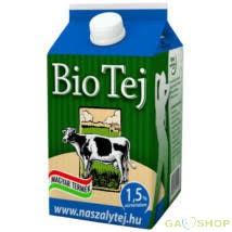 Zöldfarm bio tej friss 1.5% 500 ml ( Csak személyes átvétellel Dunaharasztin )