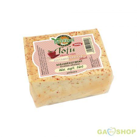Toffini tofu pritaminpaprikás