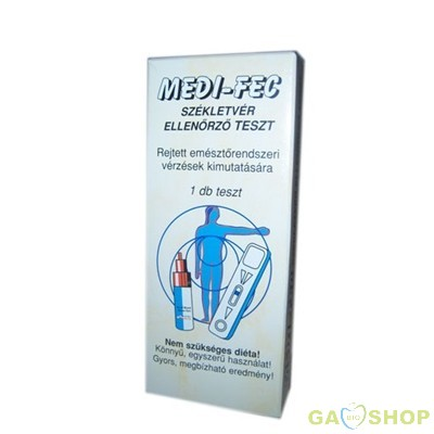 Medi-fec székletvér ellenőrző teszt 1 db