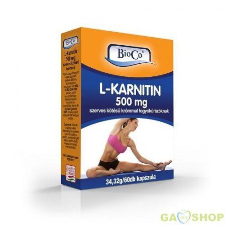 Bioco l-karnitin kapszula