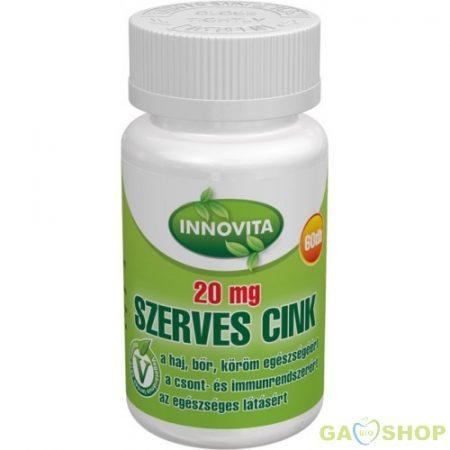 Innovita szerves cink tabletta