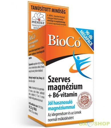 Bioco szerves magnézium+b6 megapack