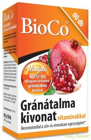 Bioco gránátalma tabletta