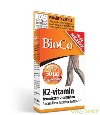 Bioco k2 vitamin tabletta