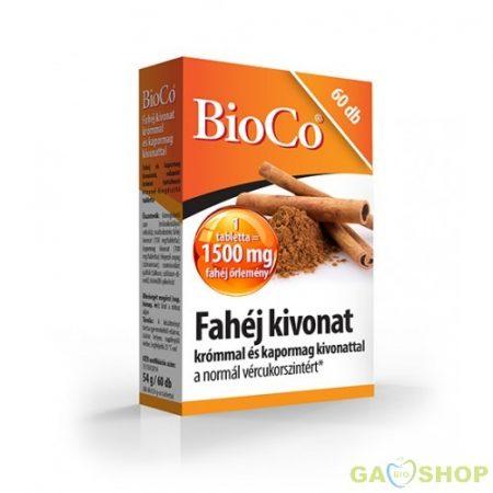 Bioco fahéj tabletta