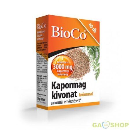 Bioco kapormag tabletta krómmal