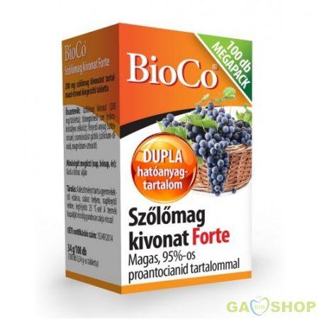 Bioco szőlőmag kivonat forte megapack
