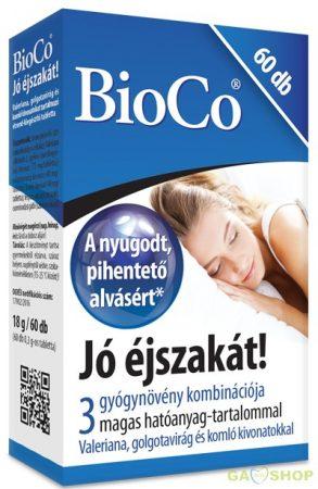 Bioco jó éjszakát tabletta