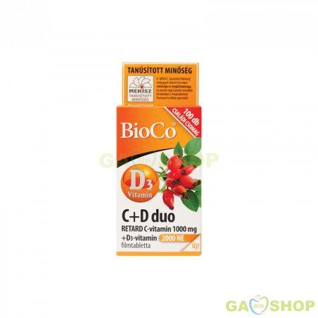 BIOCO C+D DUO TABL. CSALÁDI CSOM. 100 DB