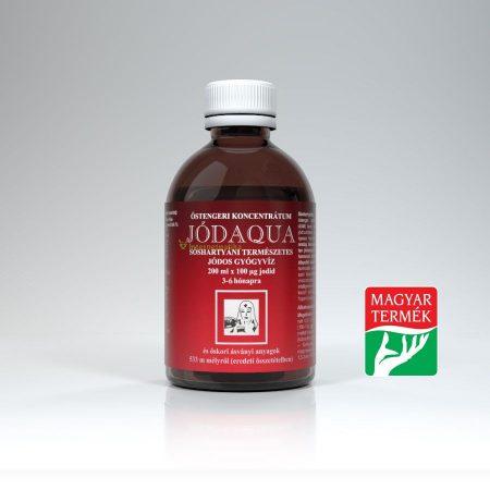Jódaqua jódos gyógyviz 200 ml