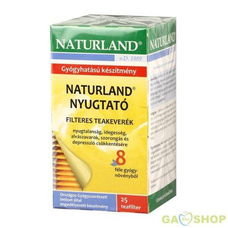 Naturland nyugtató tea 25 filteres 25 filter