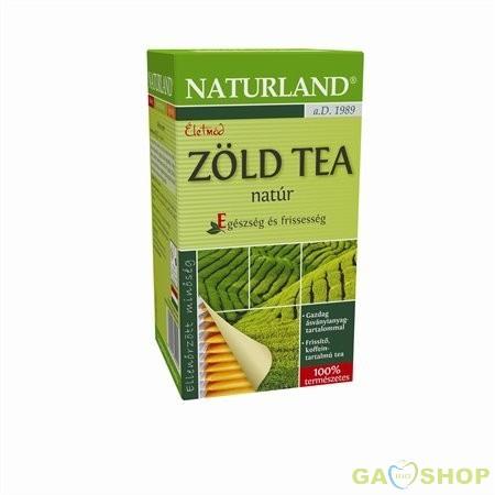 Naturland zöldtea filteres