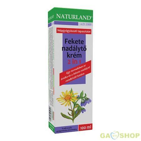 Naturland feketenadálytő krém 2in1 100 ml