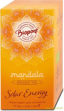 Mandala bio filteres tea solar energy