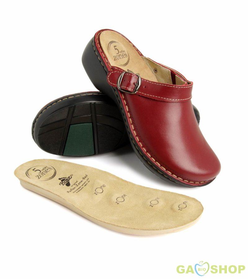 Batz női papucs Mira piros Női cipő webáruház Női cipő