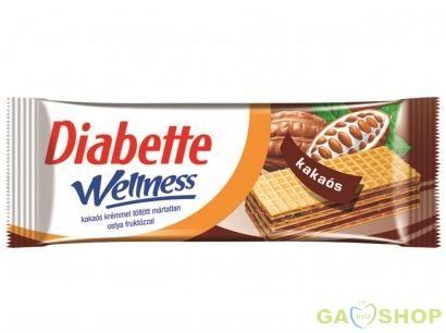 Diabette wellness kakaós ostya 50 g