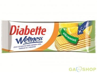 Diabette wellness citromos ostya 50 g