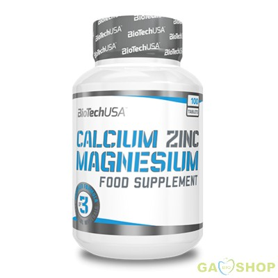 Biotech calcium-zinc-magnesium tabletta