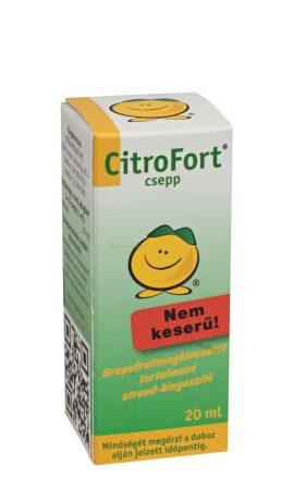 Citrofort grapefr. Mag kiv. Zöld 20 ml
