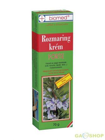 Biomed rozmaring krém 70 g forte 70 g