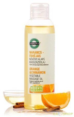 Yamuna masszázsolaj narancs-fahéj 250 ml