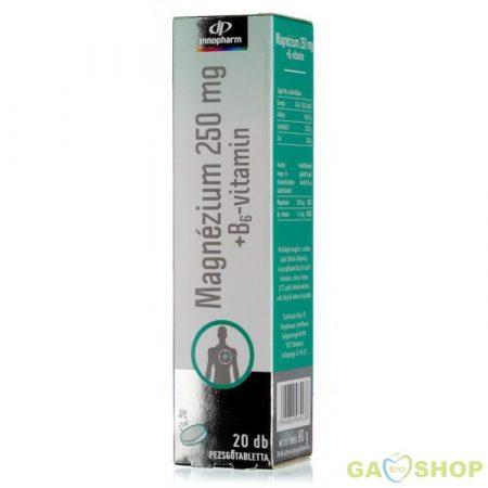 Innopharm pezsgőtabletta magnesium+b6