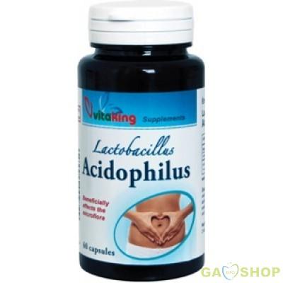 Vitaking acidophilus kapszula