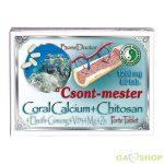 Dr.chen coral cal.+Chitosan tabl. 80 db