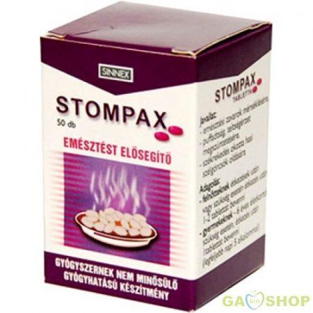 Stompax tabletta 50 db