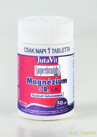 Jutavit magnézium+b6 filmtabletta